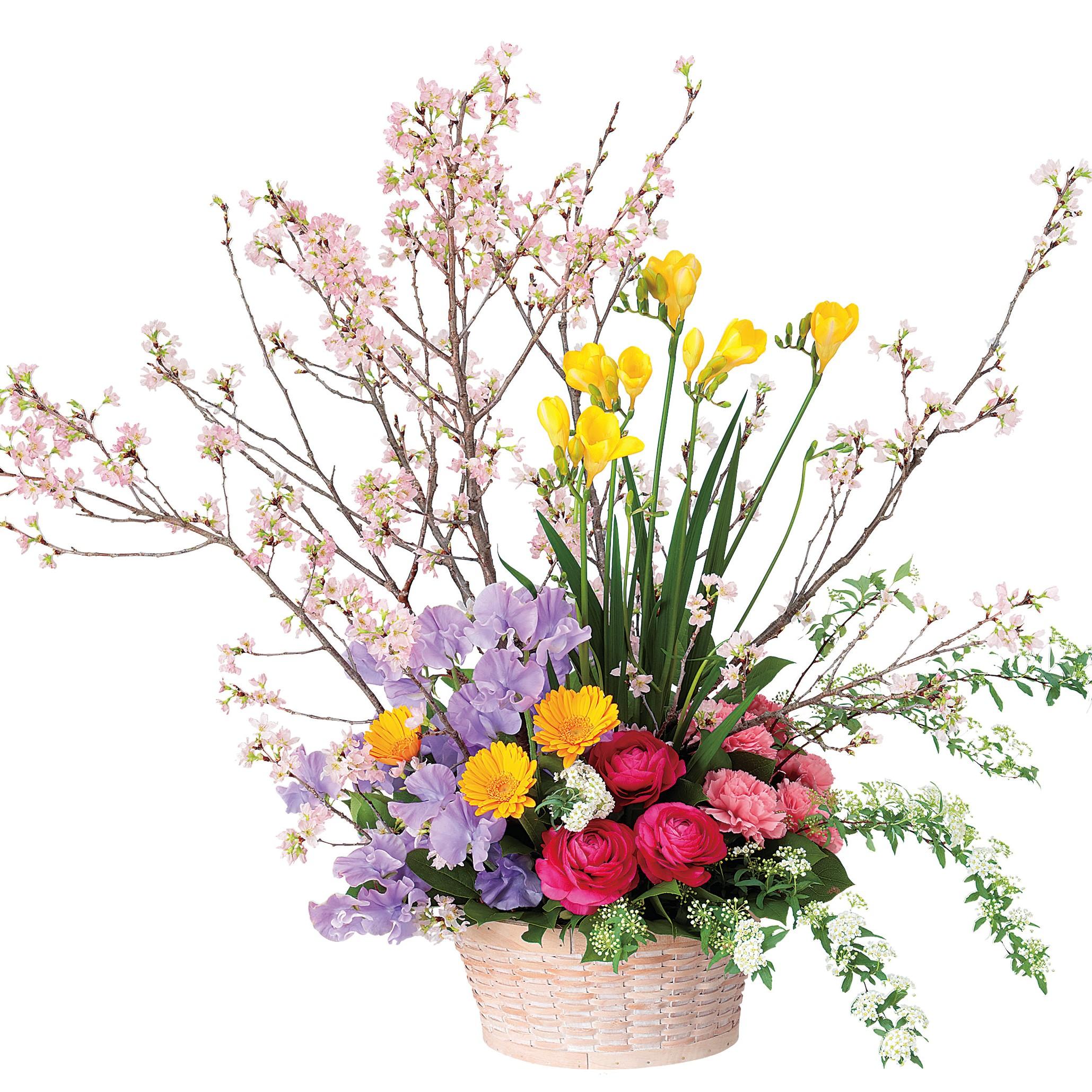 春のアレンジメント