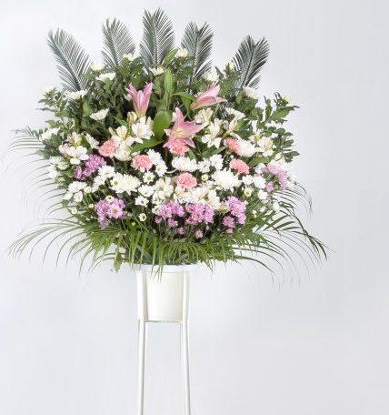 葬儀用 供花スタンド1段